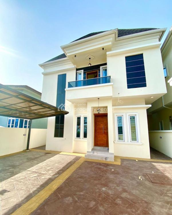 Exotic 4 Bedroom Fully Detached with a Room Bq, Chevron, Lekki, Lagos, Detached Duplex for Sale