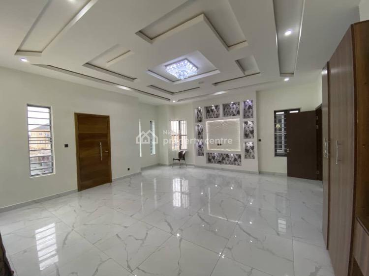 Luxurious 5 Bedroom Fully Detached with a Room Bq, Chevron, Lekki, Lagos, Detached Duplex for Sale