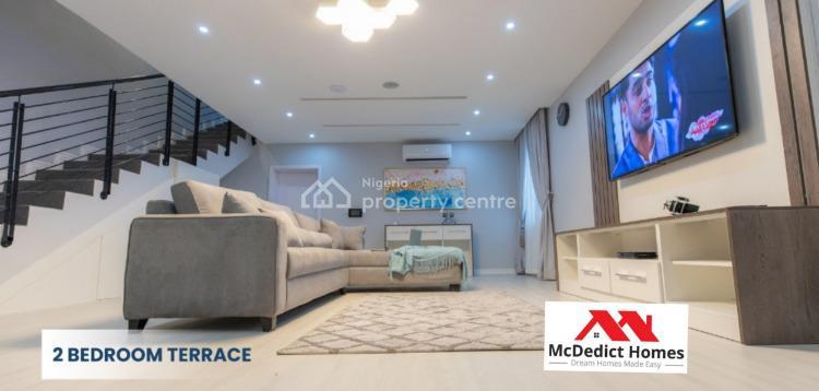 Amazing 2 Bedrooms Terrace, Abraham Adesanya, Ajah, Lagos, Terraced Duplex for Sale