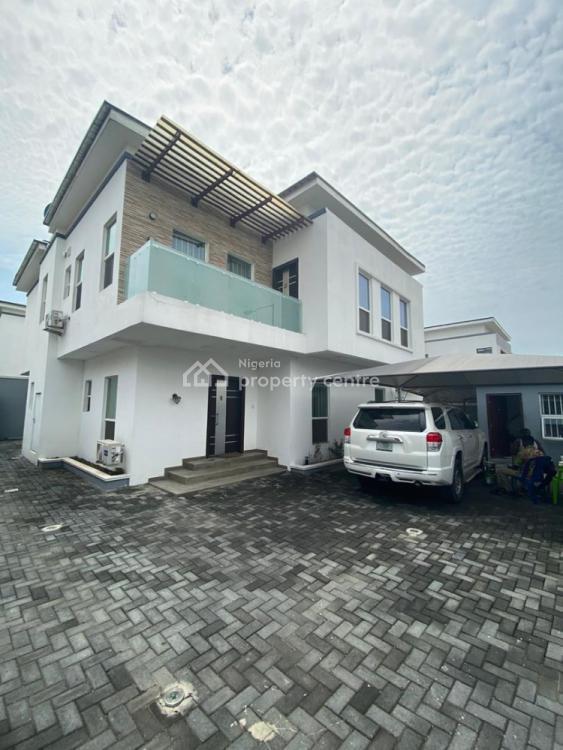 Newly Built 5 Bedroom Detached Duplex with a Room Boys Quaters, Osapa, Lekki, Lagos, Detached Duplex for Sale