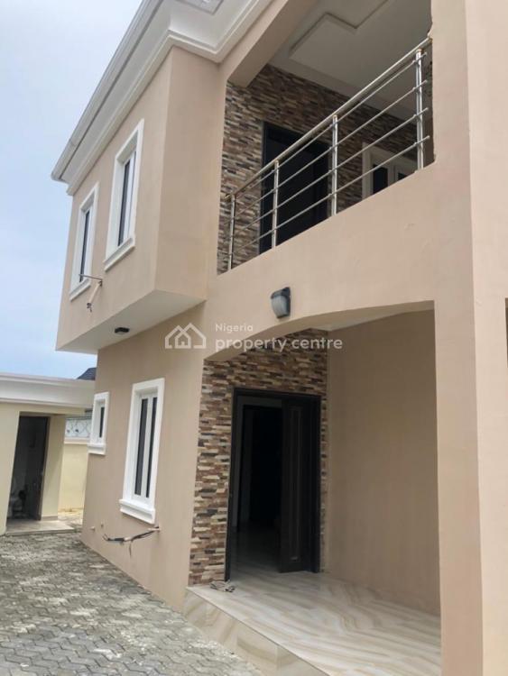 Spacious Brand New 4 Bedroom Duplex  with Bq Self Compound, Around Blenco Supermarket Before Shop Rite, Sangotedo, Ajah, Lagos, Detached Duplex for Rent