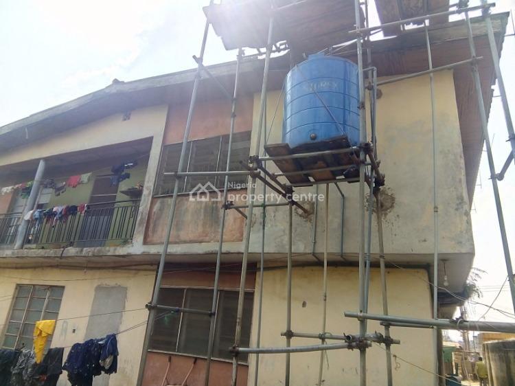 Block of 4 Nos 3 Bedrooms Flat, Anyawale Street, Ijegun, Ikotun, Lagos, Flat for Sale