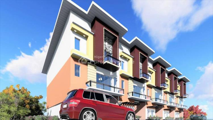 Ready in 2 Months Hot 4 Bedrooms Terraced Duplex with Bq and Gen., Jahi, Abuja, Terraced Duplex for Sale