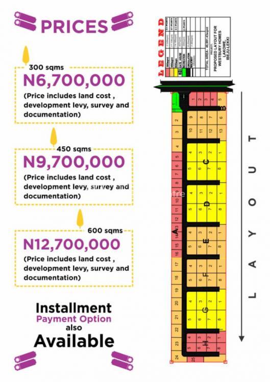 Land, Westburry Homes, Bogije, Ibeju Lekki, Lagos, Residential Land for Sale