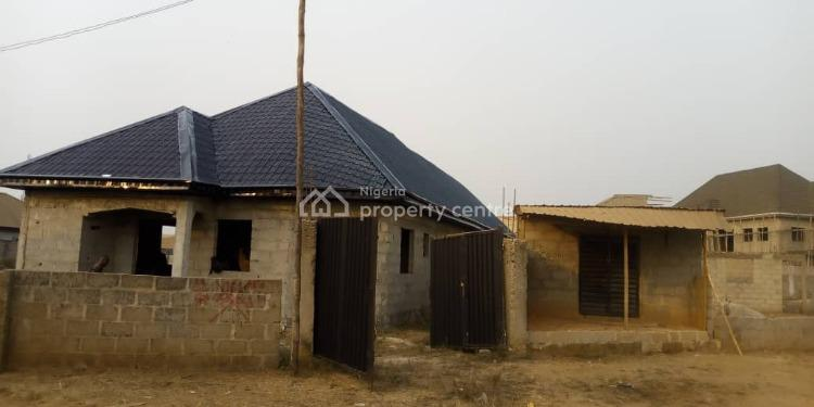 Newly Roofed Uncompleted 3 Bedroom & 2 Bedroom  Bungalow., Mini Estate at Elepe Junction Area Off Ijede Road., Ikorodu, Lagos, Detached Bungalow for Sale