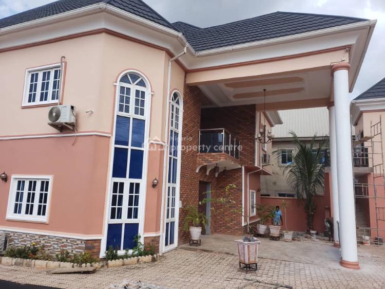 Exquisite 4 Bedroom Suited Detached Duplex with 3 Rooms Bq., Orji Uzoh Kalu Estate., Thinkers Corner, Enugu, Enugu, Detached Duplex for Sale