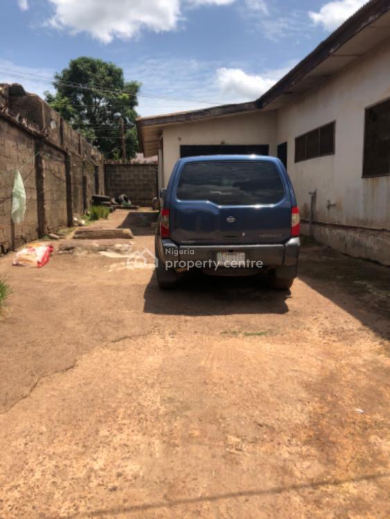 Strategic Plot of Land with 4 Bedroom Bungalow on Tarred Road., Sani Abacha Road in Phase 6 Trans Ekulu Axis., Trans Ekulu, Enugu, Enugu, Mixed-use Land for Sale