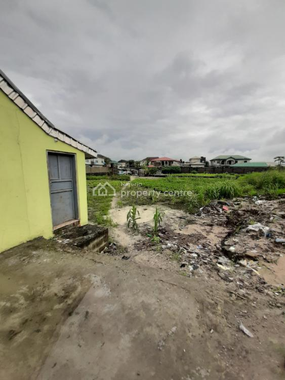 Fenced 4 Plots with Existing Shops, Eputu, Ibeju Lekki, Lagos, Commercial Land for Sale