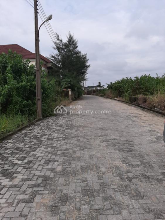 Full Plot Facing an Interlocked Road, Peninsula Garden Estate, Sangotedo, Ajah, Lagos, Residential Land for Sale
