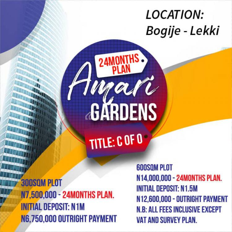 Land, Amari Gardens Bogije, Lekki, Lagos, Residential Land for Sale