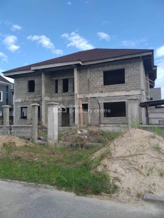 Uncompleted 5 Bedroom Detached House, Off Newcastle Road, Pinnock Estate., Jakande, Lekki, Lagos, Detached Duplex for Sale
