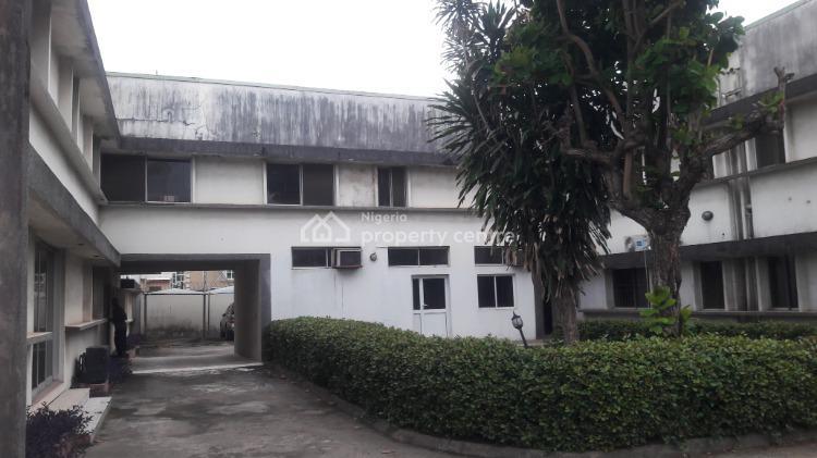 9 Bedrooms, 3 Large Sitting Rooms, 2 Rooms Bq., Opebi, Ikeja, Lagos, Semi-detached Duplex for Rent