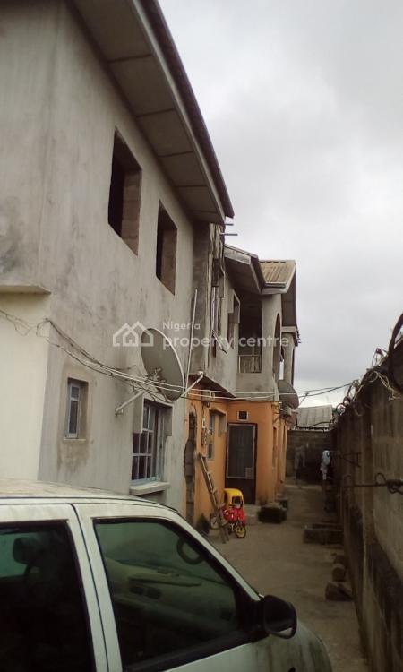a Block of Flat on a Plot of Land, Alfa Nosiru Baruwa Avenue Off Sewage Road,, Egbeda, Alimosho, Lagos, Block of Flats for Sale
