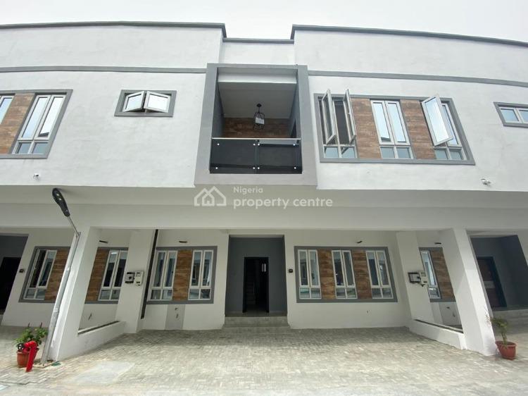 Brand New Serviced 4-bedroom Terrace House (deal)., Osapa, Lekki, Lagos, Terraced Duplex for Sale