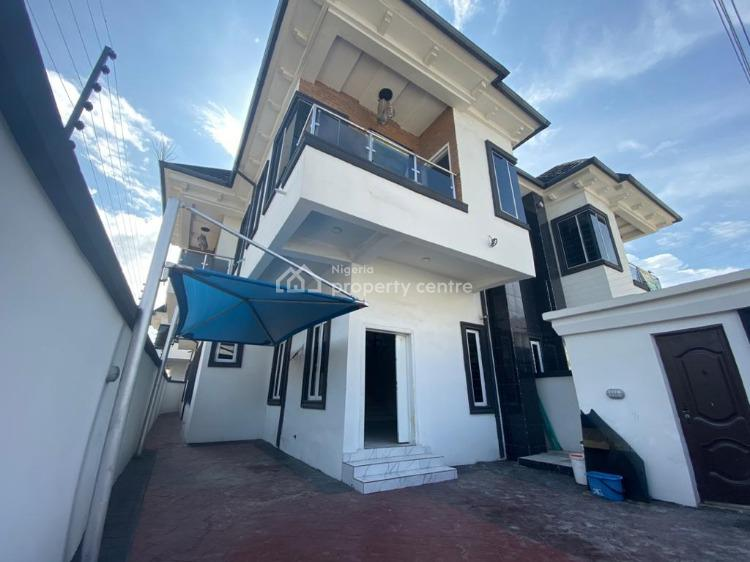 Brand New 4-bedroom Semi-detached House with Bq, Osapa, Lekki, Lagos, Semi-detached Duplex for Sale