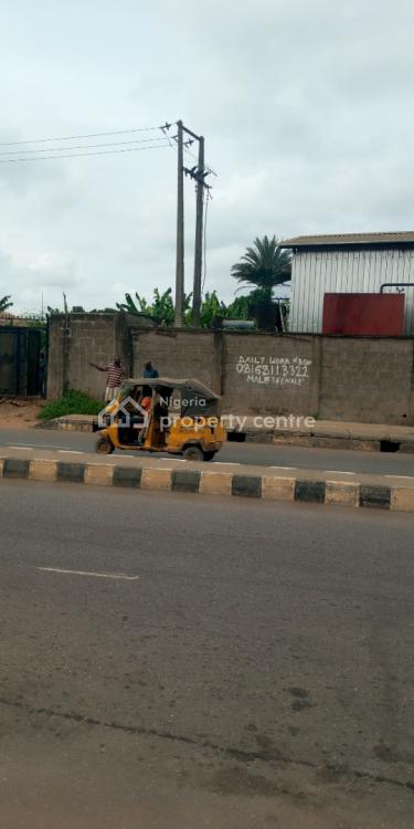 Commercial 3 Plots, Facing Idimu Ejigbo Road, By Church Bus-stop, Idimu, Lagos, Commercial Land for Sale