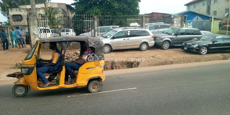 2 Plots Together, Ile Epo Bus-stop, Along Ikotun Isolo Ejigbo Road, Ejigbo, Lagos, Commercial Land for Sale