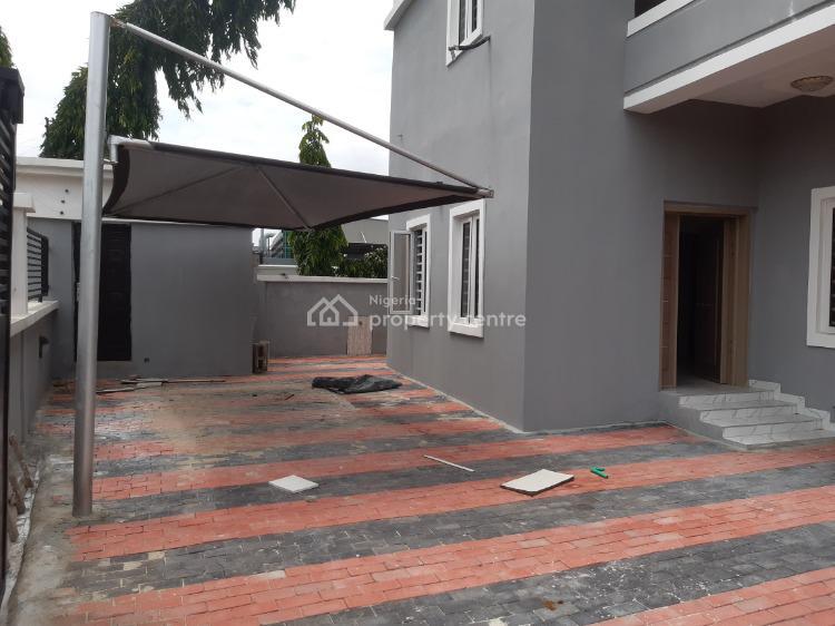 New 5 Bedrooms Detached Duplex with Bq in an Estate, Besides Shoprite, Sangotedo, Ajah, Lagos, Detached Duplex for Sale