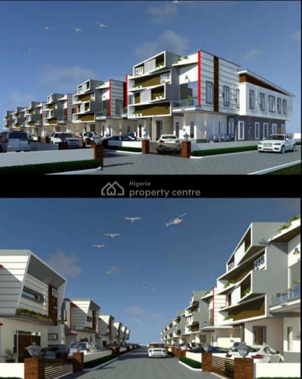 4 Bedroom Smart Home, 2nd Toll Gate By Orchid Hotel Road, Lekki Phase 2, Lekki, Lagos, Semi-detached Duplex for Sale