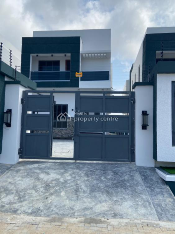 Exquisite 5 Bedroom Fully Detached House, Fitted Kitchen and a Bq, Off Kusunola Road., Ikate, Lekki, Lagos, Detached Duplex for Sale