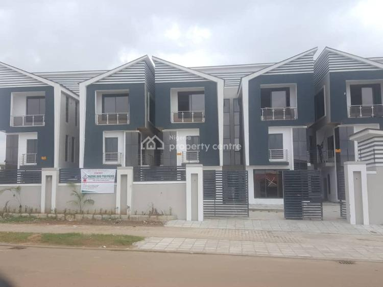 Newly Built and Well Finished 4 Bedroom Terraced Duplex with a Bq, Jabi, Abuja, Terraced Duplex for Rent