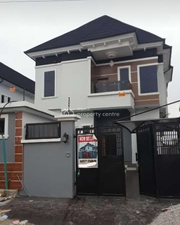 Luxury 5 Bedrooms Duplex with Excellent Facilities, Chevron Alternative, Lekki, Lagos, Semi-detached Duplex for Sale