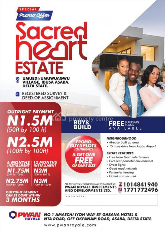 Land, Sacred Heart Estate, Asaba, Delta, Residential Land for Sale