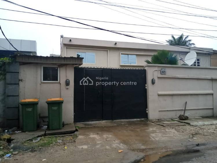 Spacious and Neat 5 Bedroom Semi Detached Duplex with 2-room Bq, Off Awolowo Road, South West, Falomo, Ikoyi, Lagos, Semi-detached Duplex for Rent