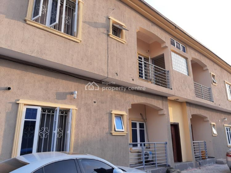 Brand New 2 Bedroom Flat with Bathtube & Dinning Area on Paved Road, Ogombo, Ajah, Lagos, Flat for Rent