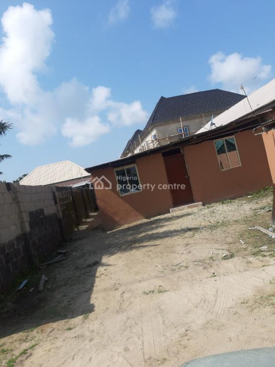 Completed Structure on a Half Plot of Land in a Built Up Area., Therannex, Olokonla, Ajah, Lagos, Detached Bungalow for Sale