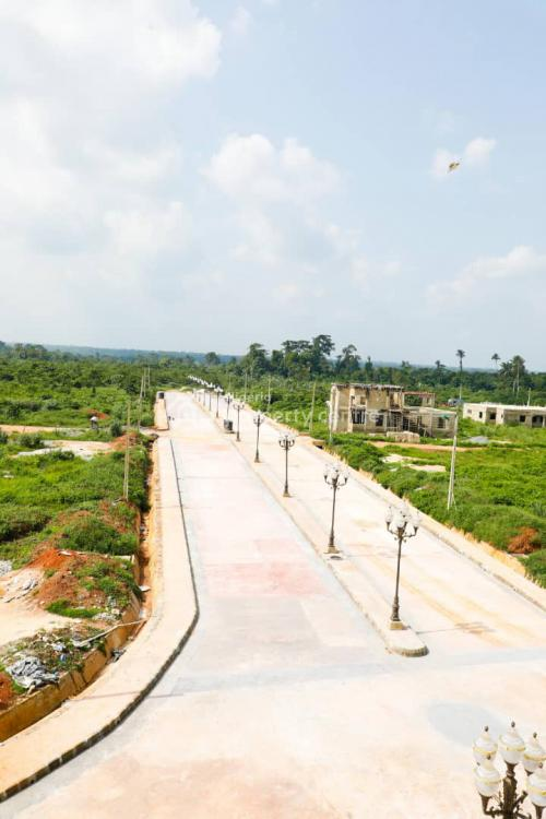Land, City of Rome Estate, Located After Caleb University, Town Park and Garden, City of Rome, Imota, Lagos, Mixed-use Land for Sale