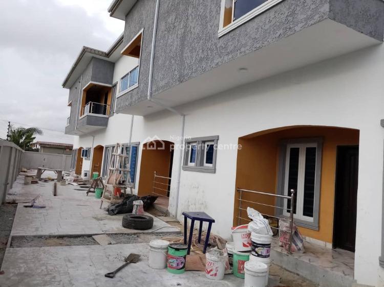 Luxury 3 Bedroom Terrace Duplex Apartment, Behind Mayfair Garden, Awoyaya, Ibeju Lekki, Lagos, Detached Duplex for Sale
