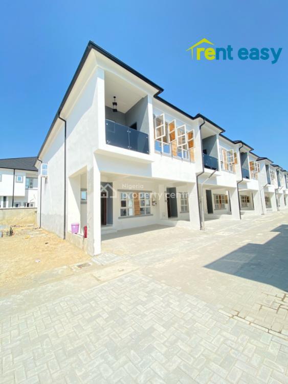 Luxury 4 Bedroom Terrace Duplex with Bq, Lafiaji, Lekki, Lagos, Terraced Duplex for Rent