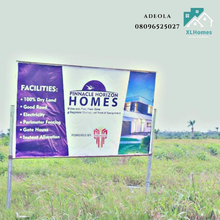 Pinnacle Horizon Homes Luxurious Estate, Ode Omi, Ibeju Lekki, Lagos, Mixed-use Land for Sale