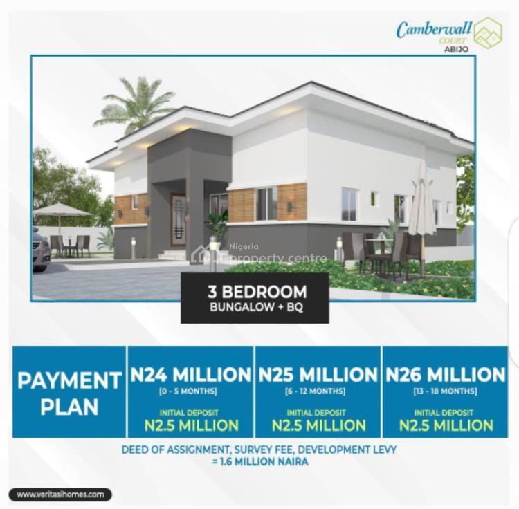 3 Bedrooms Bungalow with Bq, Abijo Gra, Lekki, Lagos, Detached Bungalow for Sale