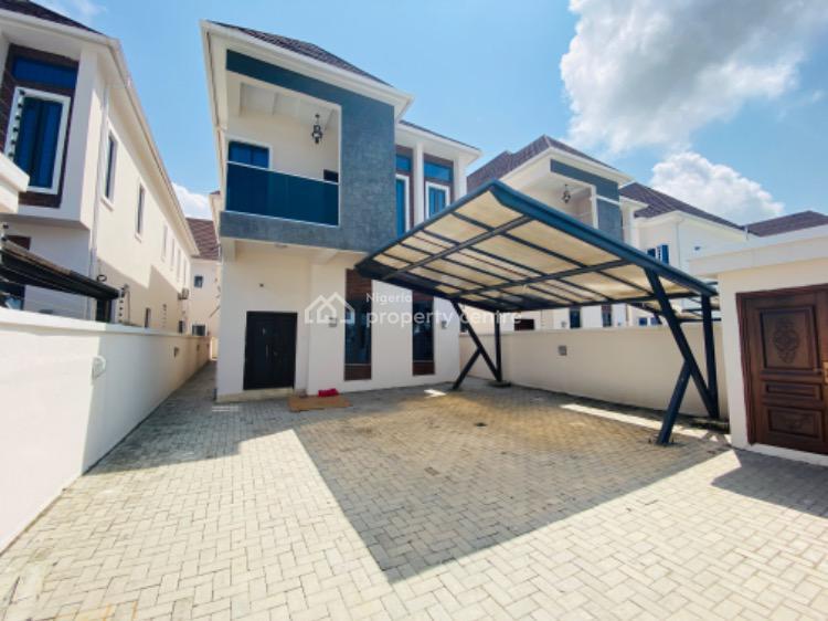 4 Bedroom Fully Detached Duplex with Bq , 24 Hours Power Supply, 2nd Toll Gate, Lekki Phase 2, Lekki, Lagos, Detached Duplex for Rent