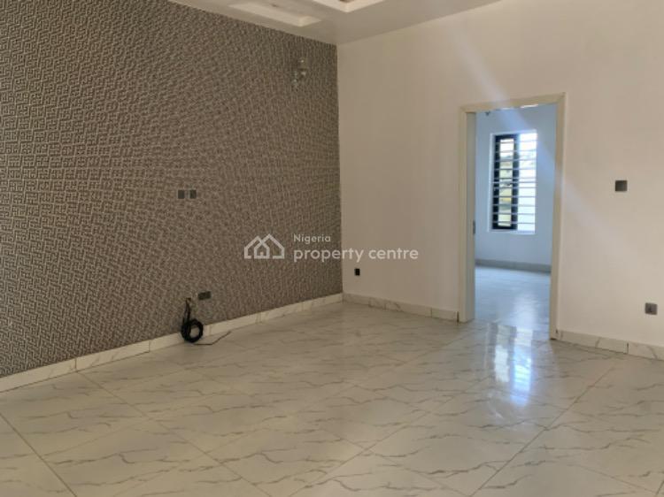 Service 4 Bedroom Terrace House with Bq, Conservation Road,chevron., Lafiaji, Lekki, Lagos, Terraced Duplex for Rent