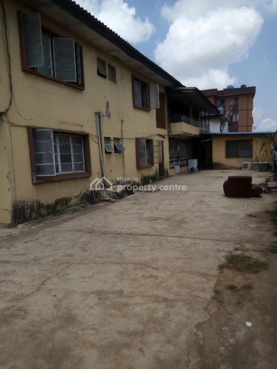 a  Block of 4 Flats on 675sqms of Land in a Serene  Area, Isolo, Lagos, Block of Flats for Sale