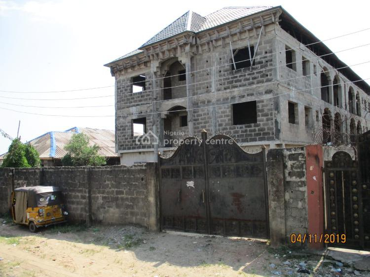 Block of 6 Nos of Three Bedrooms Flat, Jakande Estate, Oke Afa, Isolo, Lagos, Block of Flats for Sale
