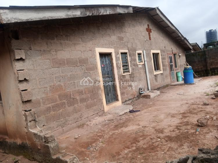 Bungalow of 4 Flats on Full Plot, Area 1 Estate, Ijaiye, Lagos, Detached Bungalow for Sale