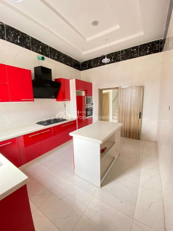 Fully Service 4 Bedrooms Semi Detached Duplex, Chevron, Lekki, Lagos, Semi-detached Duplex for Sale