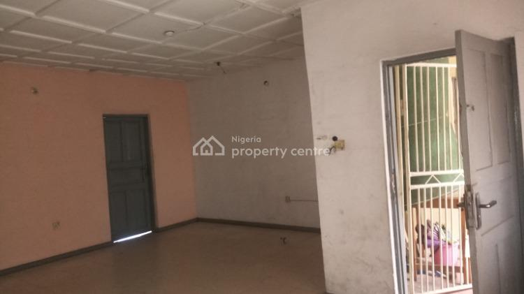Decent Three Bedroom Flat with Ample Compound, Yaba, Lagos, Flat for Rent