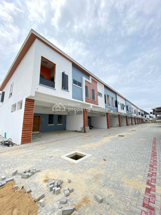 Service 4 Bedrooms Terrace Duplex, Off Chevron Drive, Lekki, Lagos, Terraced Duplex for Sale