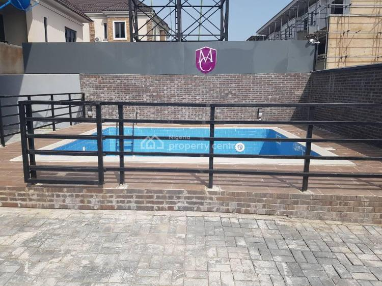 Brand New 4 Bedroom Terrace with a Bq, Pool, Ikate, Lekki, Lagos, Terraced Duplex for Sale