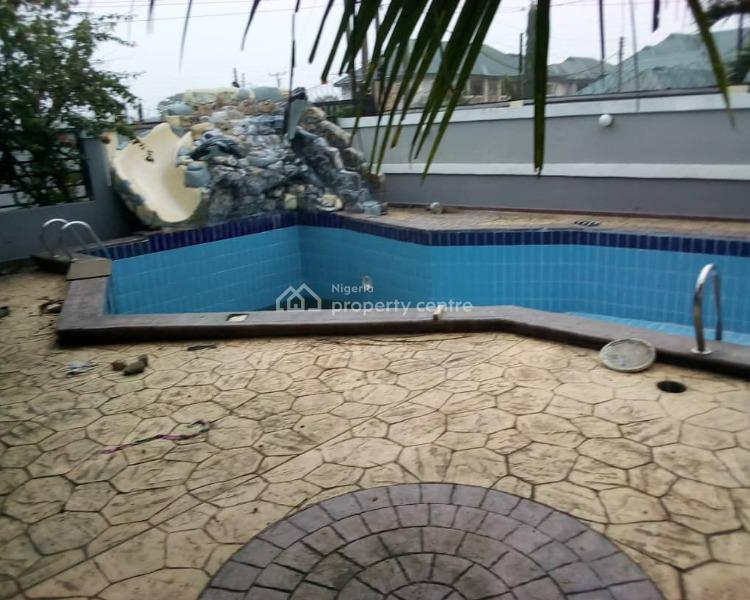 Fully Furnished 6 Bedroom Bungalow with Swimming Pool, Bq Etc, Rukpokwu Road Close to Primary School, Rukpokwu, Port Harcourt, Rivers, Detached Bungalow for Sale