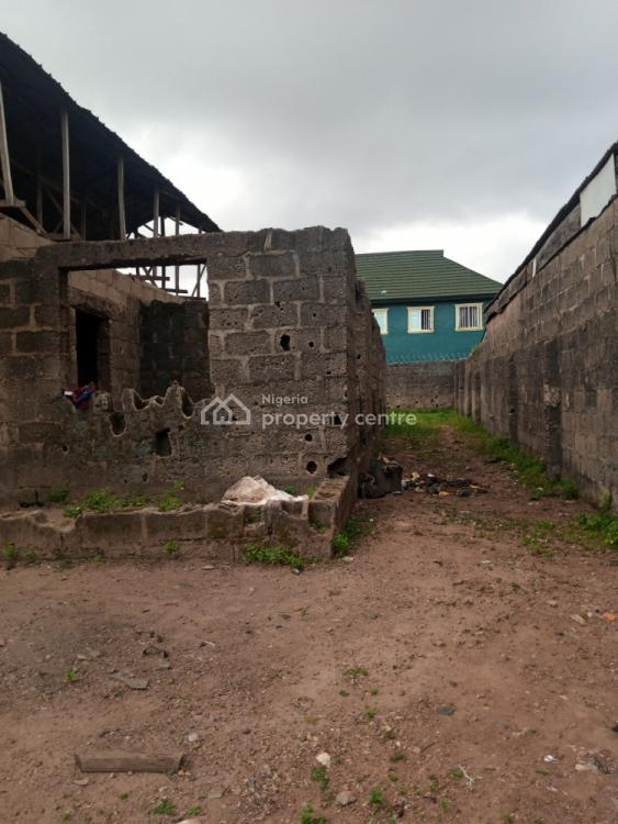 Uncompleted Building on a Full Plot of Land, Captain, Abule Egba, Agege, Lagos, House for Sale