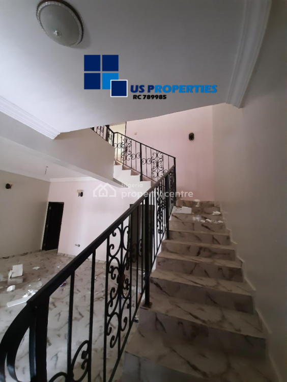 Finished 3 Bedrooms Terrace with Good Maintained Facilities, Meridian Park Estate, Awoyaya, Ibeju Lekki, Lagos, Terraced Duplex for Rent