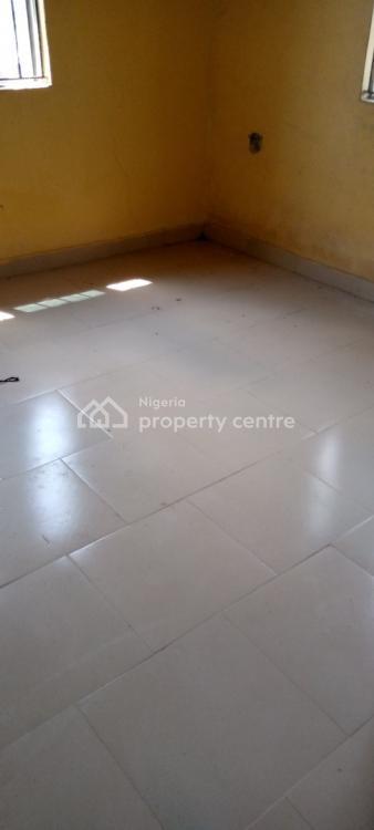 Sweet & Spacious Room & Parlor, New Town Estate, Ogombo, Ajah, Lagos, Mini Flat for Rent