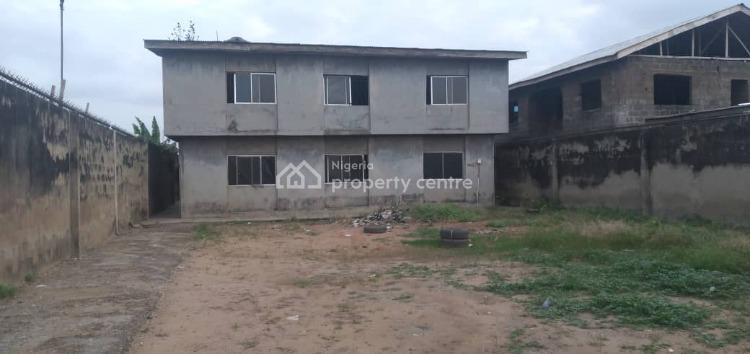 a Laid Back Block Or 2 Nos of 3 Bedroom Flats with Large Frontage, Odubanwo Olaniyi, Fagba, Agege, Lagos, Block of Flats for Sale