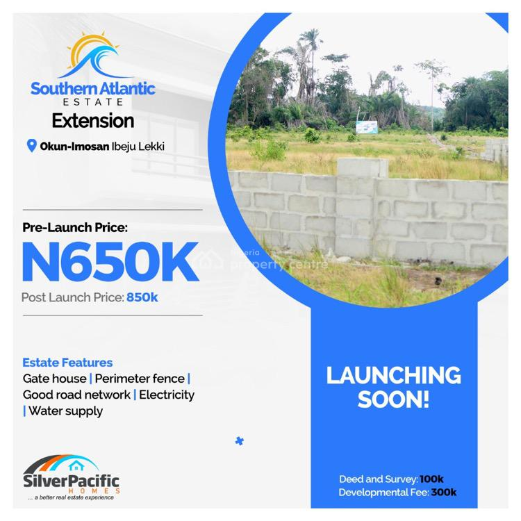 100% Dry Land with C of O in Progress, Okun Imosan, Ibeju Lekki, Lagos, Mixed-use Land for Sale